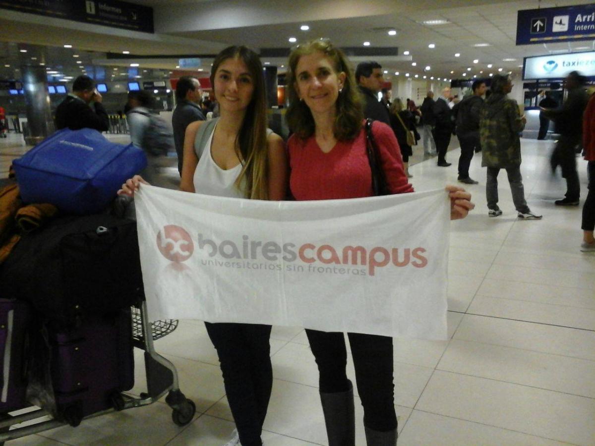 con un gran diluvio sobre Buenos Aires llegó Nathalia