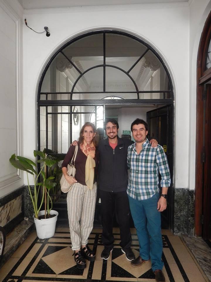 Visitando Residencia La Casona con nuestro socio de Be Global: Miguel