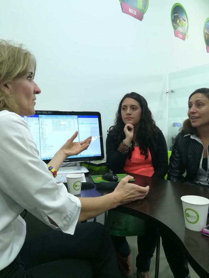Bogota primer día- Visita a BeGlobal